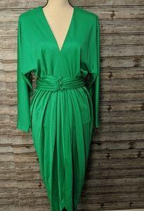 Vintage Kelly green dress. Lilli Diamond